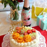 自分への誕生日ケーキ