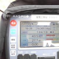 1月27日 厚木市妻田東 地デジアンテナ立て替え工事