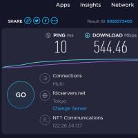 ドコモ光+OCN/IPoEは接続簡単で高速です