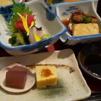 学園通の和食屋ランチ・・・割烹ちばな(城間)