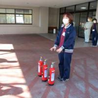 自衛消防避難訓練