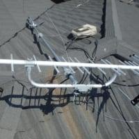 茅ヶ崎市菱沼にて アンテナ立て替え工事