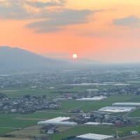 原鶴温泉「ビューホテル平成から眺めるサンセット」