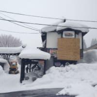 後始末~嶽温泉は雪世界