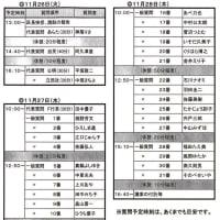 世田谷区議会第4回定例会の質問順(案)が決まりました。田中優子は11月27日(水)10時〜、代表質問を行ないます!