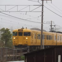 2019年4月25日,今朝の山陽線 115系2連