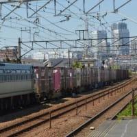 EF66-115(8078レ)【尻手駅:南武支線】2021.4.23