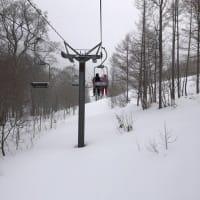 2020スキー8日目と9日目ナイターのホワイトワールド尾瀬岩鞍