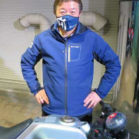 Husqvarna チームフェイスマスク 2021Model 新発売!ハスク仕様のマスク生活は如何でしょう^_^