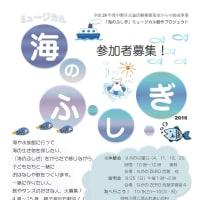 ミュージカル「海のふ・し・ぎ」参加者募集!