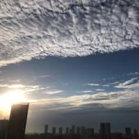 9/19の朝の空