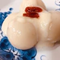 明日は満月🌔 ココナッツソースが美味しい!白玉団子(⋈◍>◡<◍)。✧♡
