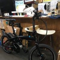 電動折りたたみ自転車x自動車で楽しさアップー! tern VECTRON S10
