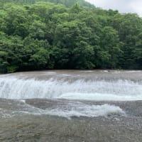 迫力満点吹割の滝