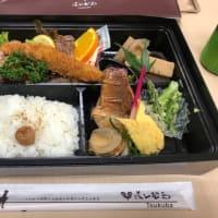 ヨシムラミートのお弁当。