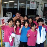 長谷川純矢選手登場!! 志太地区小学生水泳競技大会 模範泳!!