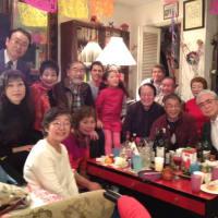 メキシコ・日本友好協会の祝賀会に出席した。