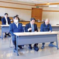 由良町長選  説明会に新人3陣営出席  65年ぶり三つどもえの選挙戦か 〈2020年3月26日〉