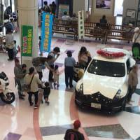 パトカー・白バイ 展示(イトーヨーカドー葛西店)