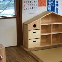 お家本棚を納品しました。