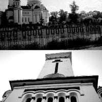 【聖トレイメ・オーソドックス教会(A.K.A.黒と白の教会)】