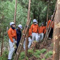 林業大学校の北山林業研修(その2)