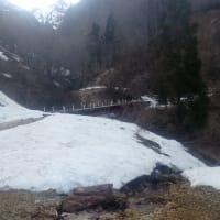 三川分水嶺+ガンガラシバナ遠望