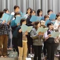 PTA&職員合同合唱練習