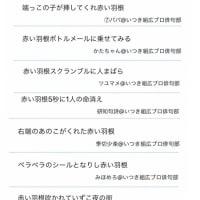 俳句生活 〜よ句もわる句も〜 兼題【赤い羽根】
