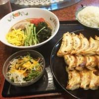本日は朝兼昼兼夜ごはんでスタンプ2倍押しキャンペーン中の餃子の王将日本橋でんでんタウン店へ。ギョウ定メガセットをオーダー。25時間ぶりの食事。