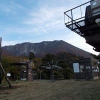 大山寺あたりは紅葉終盤です