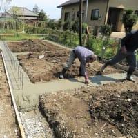 いすみ市岬町『  Oさんファミリーの創造の箱  』⌂Made in 外房の家。は、良い仕上がりにて基礎工事無事完了!!しました。