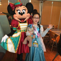 2017年15周年ファイナルとアナ雪を堪能卒業旅行・4〜ホライズンベイレストラン〜