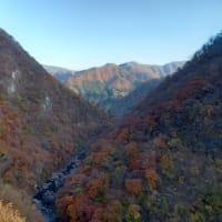 南会津の、明るく静かな奥山の秋