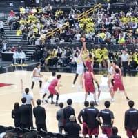 全日本バスケットボール選手権大会決勝観戦