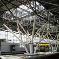 【風洞型建築2題 旭川駅と姫路英賀神社拝殿】