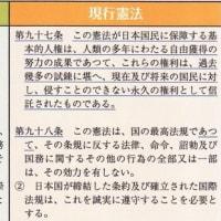 憲法祈念日2019。でも、祈っているだけでは、私たちの日本国憲法は守れない。