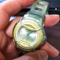 Baby-G 2回目電池交換。。