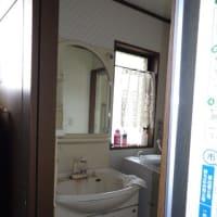 洗面化粧台の取り換え工事・・・千葉市