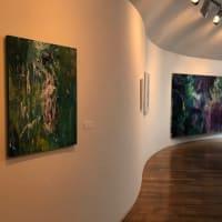 西脇市岡之山美術館アトリエ室での個展