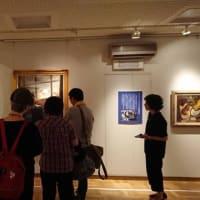 安来市加納美術館 「画家加納莞蕾 大回顧展」での対話型鑑賞会の様子④をお届けします(2019,6,2開催)