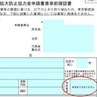 東京都感染拡大防止協力金_整体院