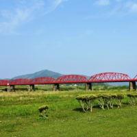 赤鉄橋~中村のシンボル