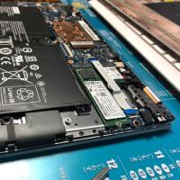 モバイルPCの故障、データ退避作業