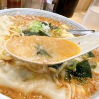 創業1976年、市川オリジナル男爵で、寒くなったラーメン豆腐ハイブレンド味噌を注文❣️なう