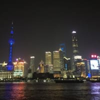 上海夜景はお約束(笑)