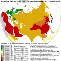 米国人にとって日本語は世界一難しい言語...、つまり…。