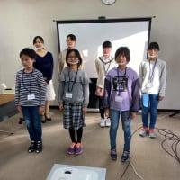 子ども活弁ワークショップ@広島市映像文化ライブラリー