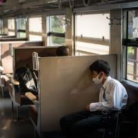 【Apr_08】鈍行列車の夕方