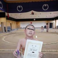 上越市民スポーツ祭り相撲小学生高学年の部×3位×イナバ物置展示商談会